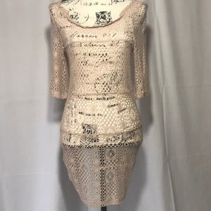 Free People Intimately Crocheted Tunic